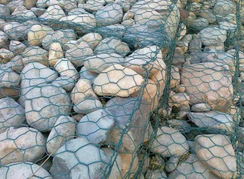 石笼网江河、堤坝及海塘的防冲刷保护