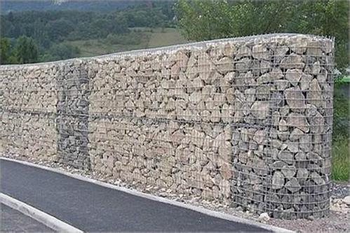 石笼网箱路边防护